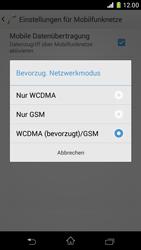 Sony Xperia Z1 Compact - Netzwerk - Netzwerkeinstellungen ändern - Schritt 7