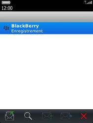 BlackBerry 9810 Torch - Paramètres - Reçus par SMS - Étape 10