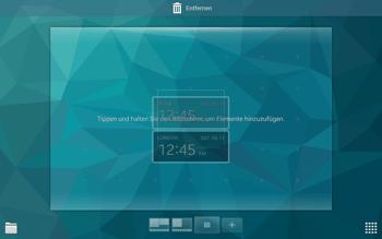 Samsung T805 Galaxy Tab S - Startanleitung - Installieren von Widgets und Apps auf der Startseite - Schritt 6