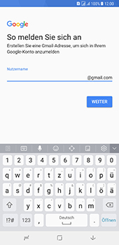 Samsung Galaxy A8 Plus (2018) - Apps - Konto anlegen und einrichten - 11 / 19