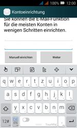 Huawei Y3 - E-Mail - Konto einrichten - 0 / 0