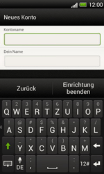 HTC T320e One V - E-Mail - Konto einrichten - Schritt 15