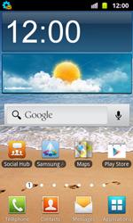 Samsung I8160 Galaxy Ace II - MMS - Configuration automatique - Étape 3