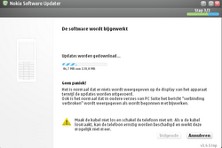 Nokia 6120 classic - Software - Update installeren via PC - Stap 17