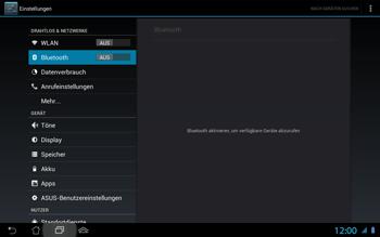 Asus Padfone 2 - Bluetooth - Geräte koppeln - 0 / 0