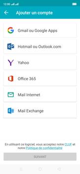 Oppo Reno 2Z - E-mails - Ajouter ou modifier un compte e-mail - Étape 5