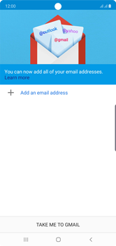 Samsung Galaxy Note 10 - E-mail - 032a. Email wizard - Gmail - Step 6