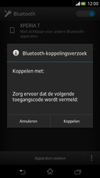 Sony LT30p Xperia T - bluetooth - headset, carkit verbinding - stap 7