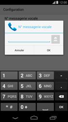 Motorola Moto G - Messagerie vocale - Configuration manuelle - Étape 9
