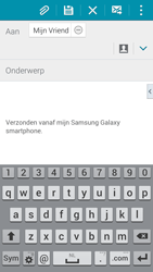 Samsung Galaxy S5 Mini - e-mail - hoe te versturen - stap 8