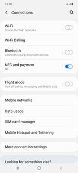 Samsung Galaxy Note 20 5G - WiFi - WiFi configuration - Step 5