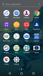 Sony Xperia XZ (F8331) - Android Nougat - MMS - Sending pictures - Step 2