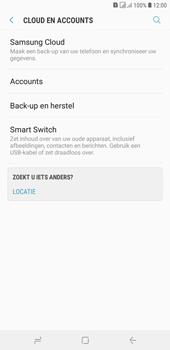 Samsung Galaxy J4 Plus - toestel resetten - back-up maken met jouw account - stap 7