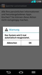 LG G2 - Fehlerbehebung - Handy zurücksetzen - Schritt 11