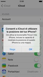 Apple iPhone 5 iOS 7 - Applicazioni - Configurazione del servizio Apple iCloud - Fase 7