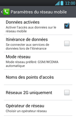 LG P700 Optimus L7 - Internet - configuration manuelle - Étape 8