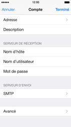 Apple iPhone 5s - E-mail - Configuration manuelle - Étape 23