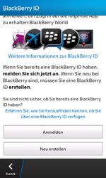 BlackBerry Z10 - Apps - Konto anlegen und einrichten - Schritt 8