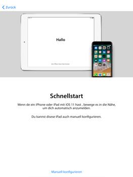 Apple iPad Air 2 - iOS 11 - Persönliche Einstellungen von einem alten iPhone übertragen - 9 / 29