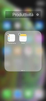 Apple iPhone XS - Operazioni iniziali - Personalizzazione della schermata iniziale - Fase 8
