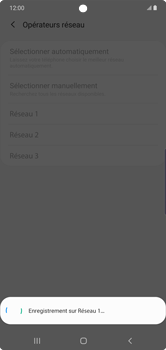 Samsung Galaxy Note 10 Plus 5G - Réseau - Sélection manuelle du réseau - Étape 12