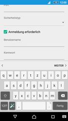 Sony E6653 Xperia Z5 - E-Mail - Konto einrichten - 2 / 2