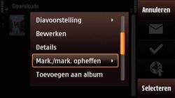 Nokia N97 Mini - contacten, foto