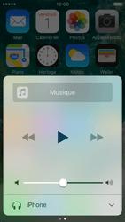 Apple iPhone SE - iOS 10 - iOS features - Centre de contrôle - Étape 8
