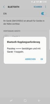 Samsung Galaxy S8 - Bluetooth - Verbinden von Geräten - Schritt 8
