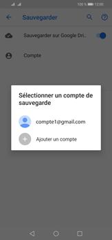 Huawei P30 Lite - Données - créer une sauvegarde avec votre compte - Étape 10