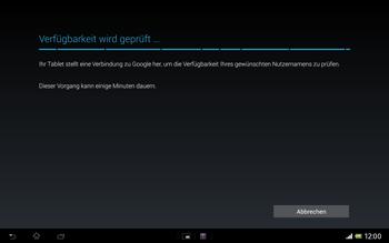 Sony Xperia Tablet Z LTE - Apps - Konto anlegen und einrichten - Schritt 10