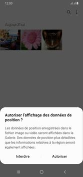 Samsung Galaxy A10 - Photos, vidéos, musique - Envoyer une photo via Bluetooth - Étape 4