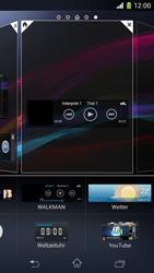Sony Xperia Z1 Compact - Startanleitung - Installieren von Widgets und Apps auf der Startseite - Schritt 7
