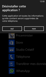Nokia Lumia 925 - Applications - Supprimer une application - Étape 5
