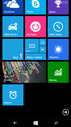 Microsoft Lumia 535 - Getting started - Personalising your Start screen - Step 5