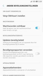 Samsung Galaxy S7 Edge - Android N - Beveiliging en ouderlijk toezicht - Hoe wijzig ik mijn SIM PIN-code - Stap 6
