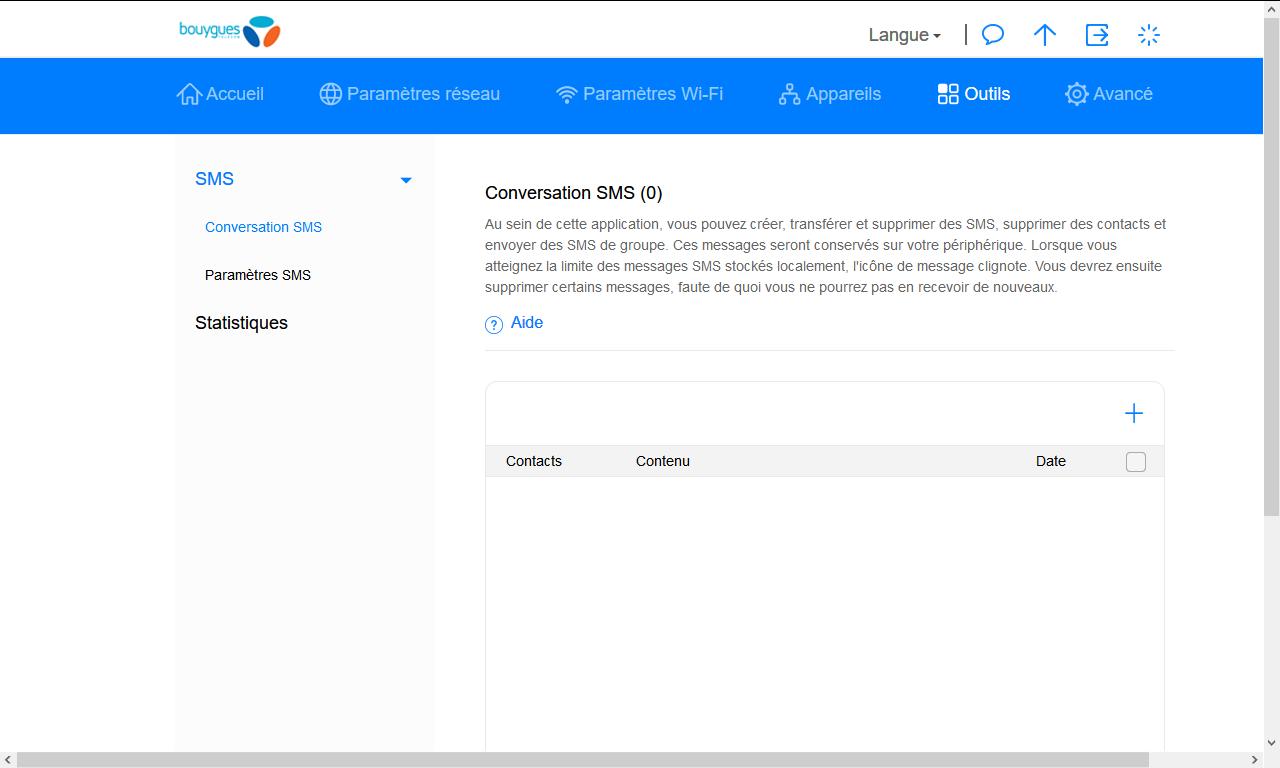 Huawei E5576 - Contact, Appels, SMS/MMS - Envoyer un SMS - Étape 3