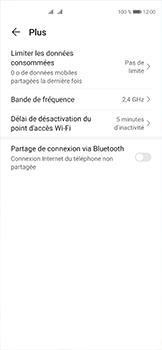 Huawei P40 - Internet et connexion - Utiliser le mode modem par USB - Étape 6