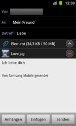 Samsung Galaxy Ace 2 - E-Mail - E-Mail versenden - 12 / 14