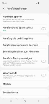 Samsung Galaxy S10 - Anrufe - Rufumleitungen setzen und löschen - 8 / 15