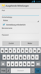 Alcatel One Touch Idol - E-Mail - Manuelle Konfiguration - Schritt 16