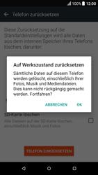HTC One A9 - Android Nougat - Fehlerbehebung - Handy zurücksetzen - Schritt 9