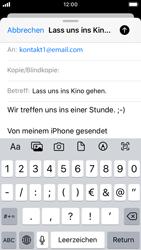 Apple iPhone SE - iOS 13 - E-Mail - E-Mail versenden - Schritt 8