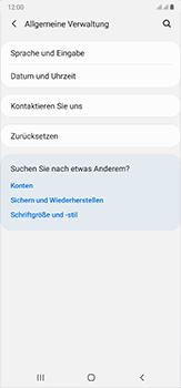 Samsung Galaxy Note 20 Ultra 5G - Startanleitung - So fügen Sie eine Tastatursprache hinzu - Schritt 5