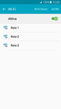 Samsung Galaxy A8 - WiFi - Configurazione WiFi - Fase 6
