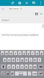 Samsung G850F Galaxy Alpha - E-mail - Sending emails - Step 8