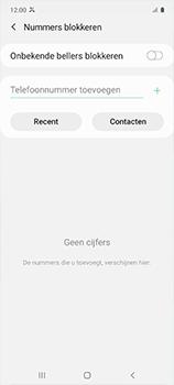 Samsung galaxy-a51-sm-a515f - Beveiliging en ouderlijk toezicht - Nummer blokkeren - Stap 7
