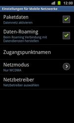 Samsung I8160 Galaxy Ace 2 - Ausland - Auslandskosten vermeiden - Schritt 8