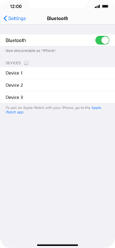 Apple iPhone 11 - iOS 14 - Bluetooth - Connecting devices - Step 7