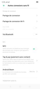 Oppo A9 2020 - Internet et connexion - Partager votre connexion en Wi-Fi - Étape 5